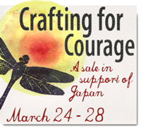 Crafting for Courage Button