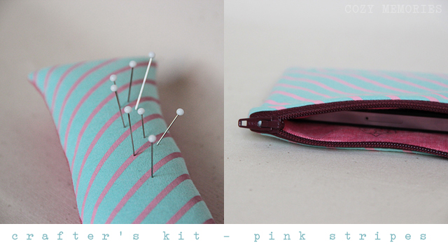 Crafter's Kits - Pink stripes