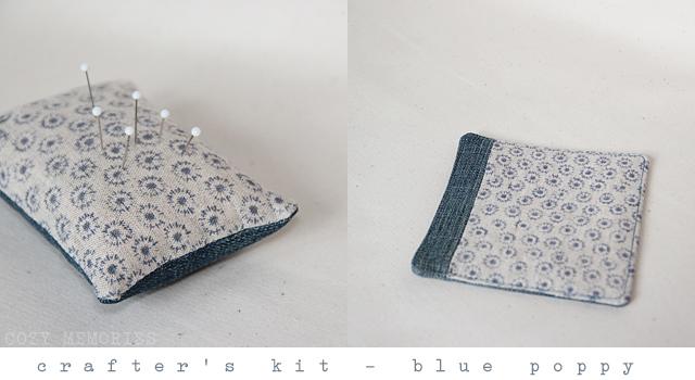 Crafter's Kit - Blue poppy