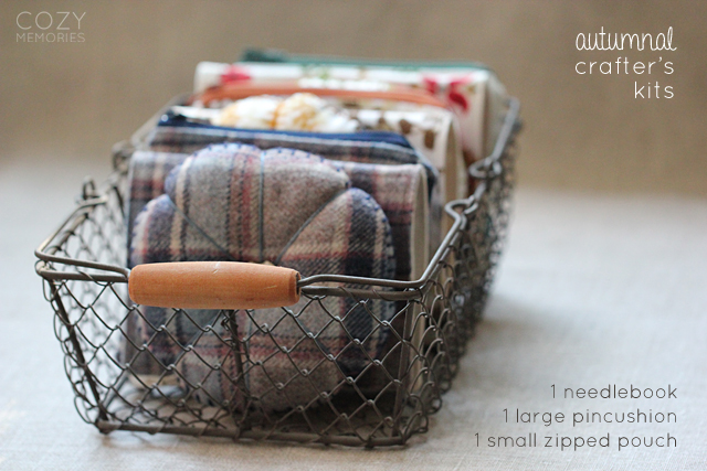 autumnal crafters' kits