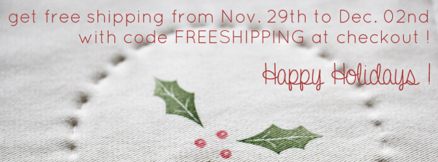 use code FREESHIPPING for free shipping